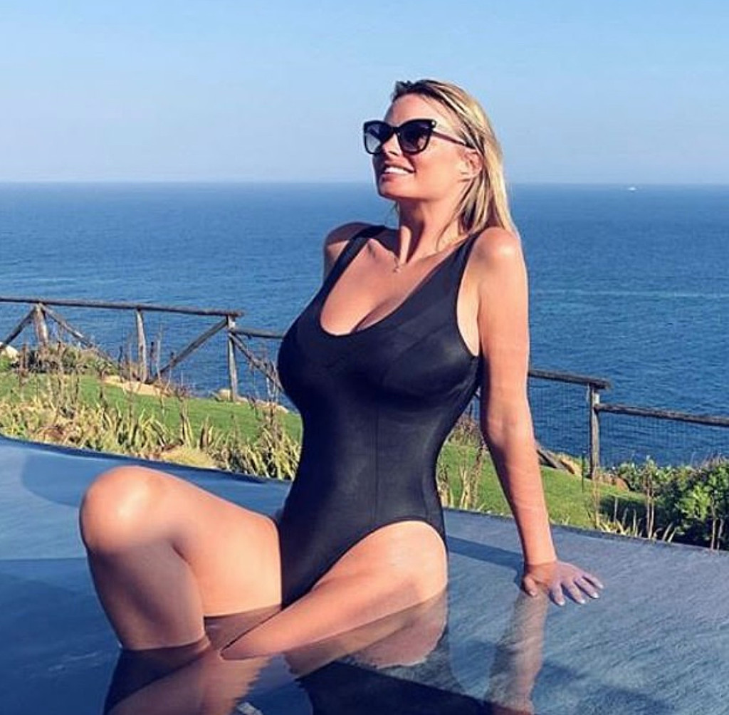 b521483f3ac Bikini News Daily - Rhian Sugden continues honeymoon in Sardinia